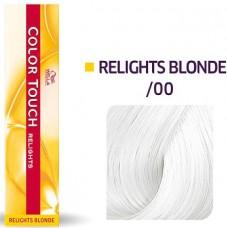 Vopsea semi permanenta profesionala - /00 - Color Touch Relights Blond - Wella Professionals- 60 ml