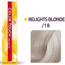 Vopsea semi permanenta profesionala - /18 - Color Touch Relights Blond - Wella Professionals- 60 ml