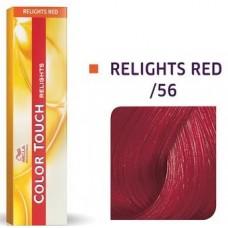 Vopsea semi permanenta profesionala - /56 - Color Touch Relights Red - Wella Professionals- 60 ml
