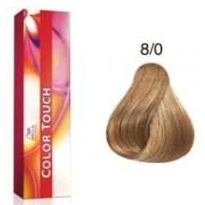 Vopsea semi permanenta profesionala - 8/0 - Color Touch - Wella Professionals- 60 ml