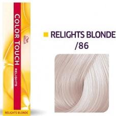 Vopsea semi permanenta profesionala - /86 - Color Touch Relights Blond - Wella Professionals- 60 ml