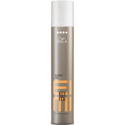 Fixativ Cu Fixare Foarte Puternica - Extra Strong Finishing Spray - Super Set - Eimi - Wella - 500 Ml