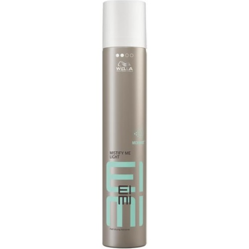 Fixativ Cu Fixare Usoara Si Uscare Rapida - Fast-drying Hairspray - Mistify Me Light - Eimi - Wella - 500 Ml