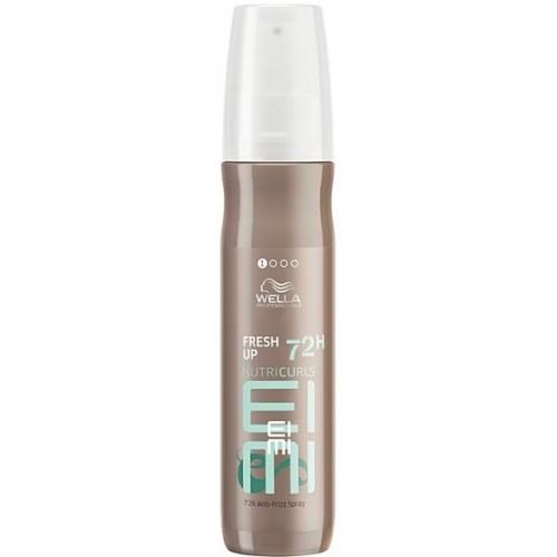 Spray Cu Efect Antistatic Pentru Bucle - Fresh Up - Nutricurls - Eimi - Wella - 150 Ml