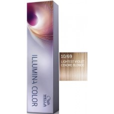 Vopsea profesionala - 10/69 - Illumina Color - Wella Professionals - 60 ml