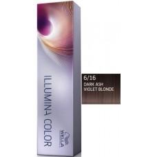 Vopsea profesionala - 6/16 - Illumina Color - Wella Professionals - 60 ml