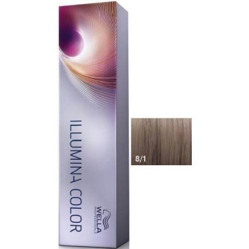 Vopsea Profesionala - 8/1 - Illumina Color - Wella Professionals - 60 Ml