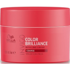 Masca-tratament pentru parul gros vopsit - Vibrant Color Mask - Coarse - Invigo Brilliance - Wella - 150 ml