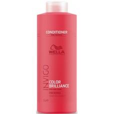 Balsam pentru parul fin/normal vopsit - Vibrant Color Conditioner - Fine - Invigo Brilliance - Wella - 1000 ml