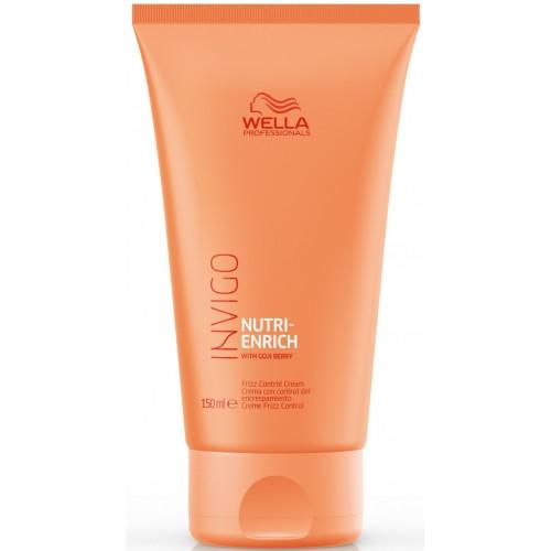 Tratament-crema Cu Efect De Netezire Si Anti-static - Frizz Control Cream - Invigo Nutri Enrich - Wella - 150 Ml