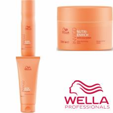 Kit mic hidratant pentru par uscat si deteriorat - Invigo Nutri-Enrich - Wella Professionals - 3 produse cu 35% discount