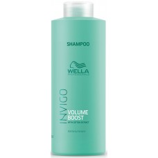 Sampon de volum pentru par fin - Bodyfing Shampoo - Invigo Volume Boost - Wella - 1000 ml