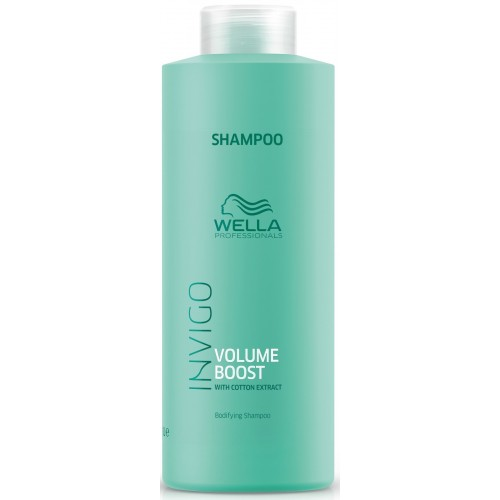 Sampon De Volum Pentru Par Fin - Bodyfing Shampoo - Invigo Volume Boost - Wella - 1000 Ml
