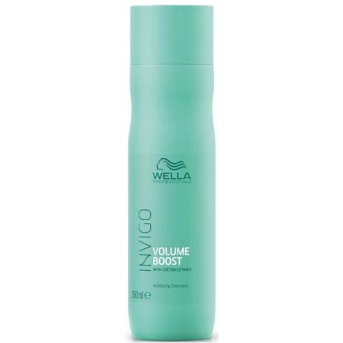 Sampon De Volum Pentru Par Fin - Bodyfing Shampoo - Invigo Volume Boost - Wella 250 Ml