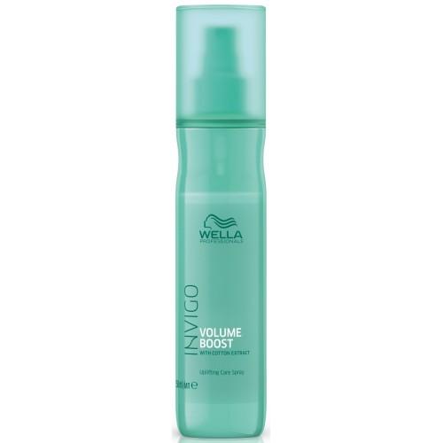Tratament-spray De Volum Pentru Par Fin - Uplifting Care Spray - Invigo Volume Boost - Wella - 150 Ml