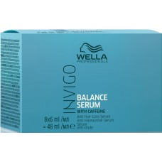 Ser impotriva caderii parului - Anti Hair-Loss Serum - Invigo Balance Serum - Wella - 8x6 ml