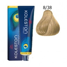 Vopsea profesionala - 8/38 - Koleston Perfect - Wella Professionals - 60 ml