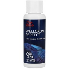 Oxidant profesional - 9% (30VOL) - Creme Developer - Welloxon Perfect - Wella - 60 ml