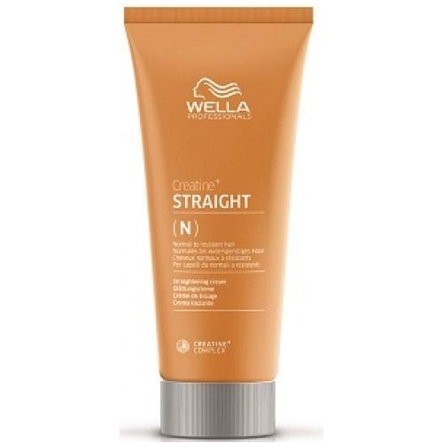 Crema Permanent Pentru Indreptarea Parului Normal/rezistent - Straight N/r - Perm - Wella - 200 Ml