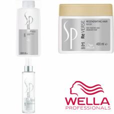 Kit mare regenerant pentru par degradat - Professional System - Reverse - Wella Professionals - 3 produse cu 35% discount
