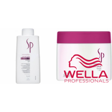 Kit mare protectiv pentru par vopsit - System Professional - Color Save - Wella Professionals - 2 produse cu 35% discount