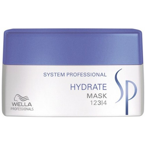 Tratament-masca Hidratant Pentru Par Uscat - Mask - Hydrate - Sp - Wella - 200 Ml