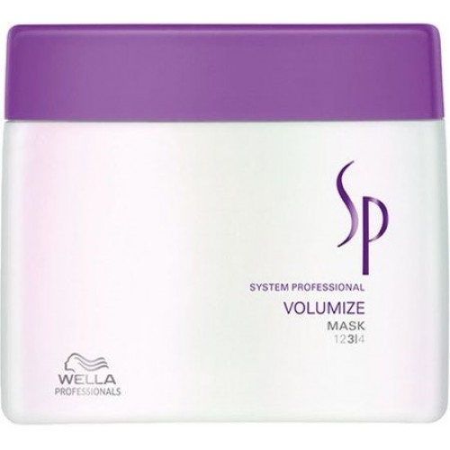 Tratament-masca De Volum Pentru Par Fin - Mask - Volumize - Sp - Wella - 400 Ml