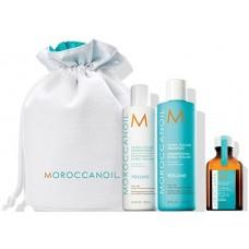 Set cadou pentru volum (par fin si subtire) - Gift sets - Moroccanoil - 4 produse cu 19.83% discount