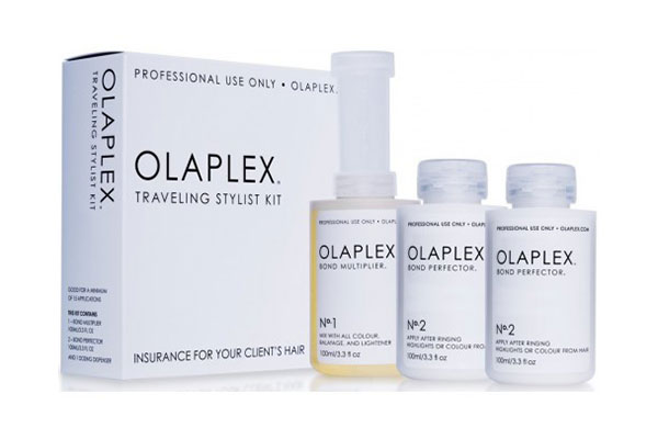 Traveling Stylist Kit - Olaplex Kit mic pentru stiliști (15 aplicări)